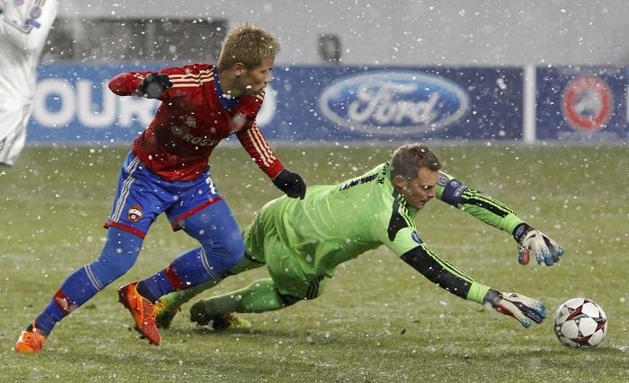 Keisuke Honda CSKA Moscow Manuel Neuer Bayern Munich