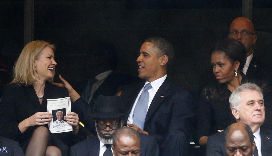 Obama Denmark's PM Michelle
