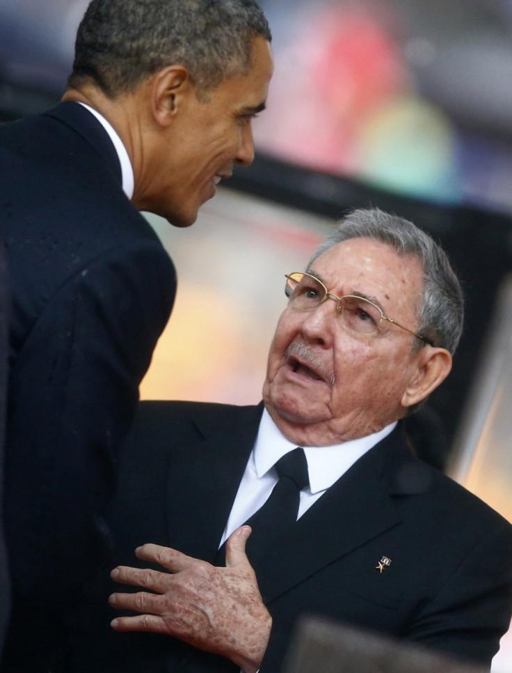 Obama Castro Mandela