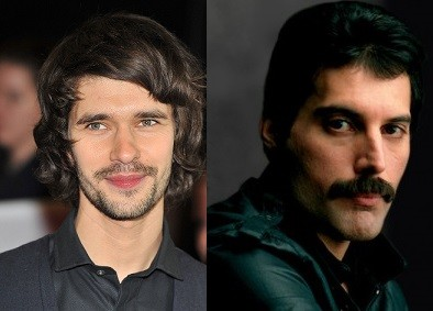 Ben Whishaw and Freddie Mercury