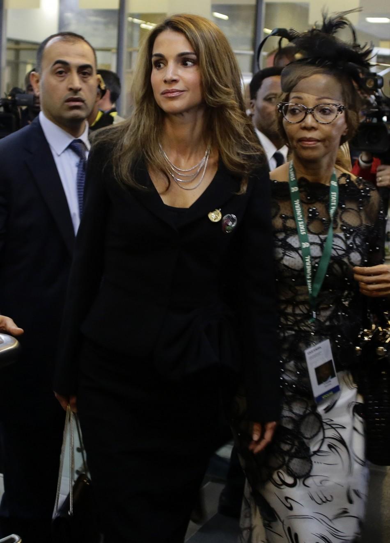 Queen Rania South Africa