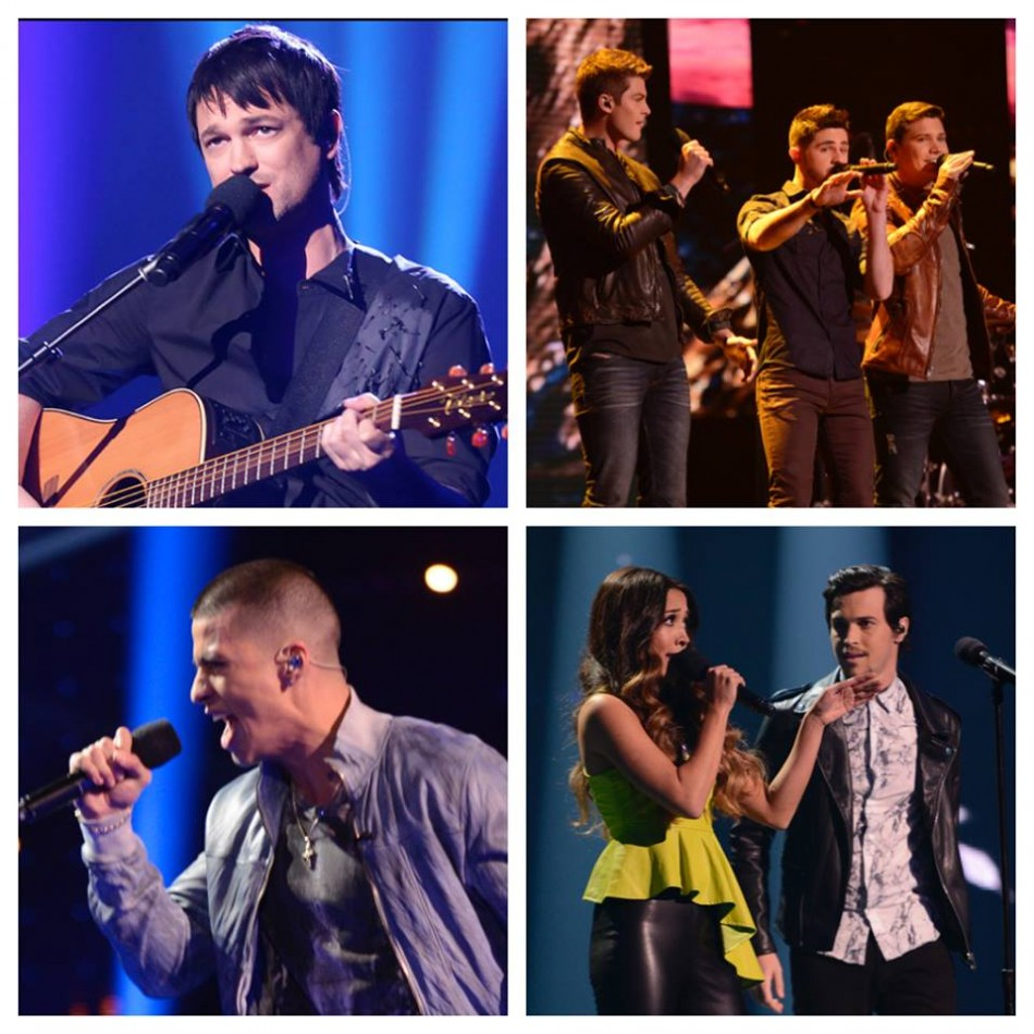 Viewers have picked songs for top four semi-finalists