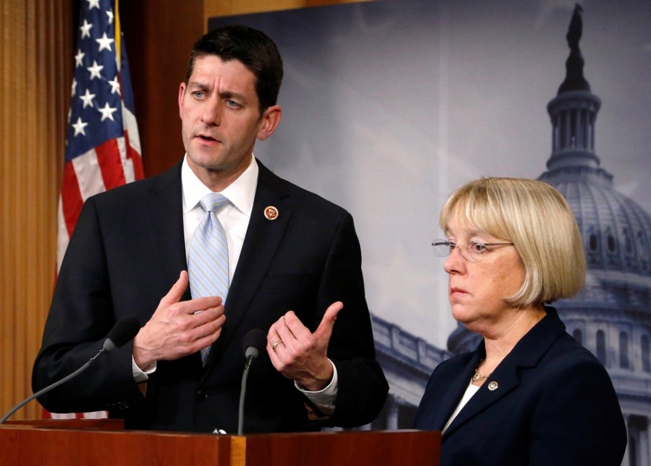 House Budget Committee chairman Representative Paul Ryan