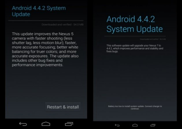 Android 4.4.2 KOT49H Bug-Fix Update Rolls Out for Nexus 7 (2013) [How to Install and Root]