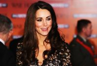 Kate Middleton glams up in an Alice Temperley dress at the UK premiere of War Horse  in London January 8, 2012. (Reuters)