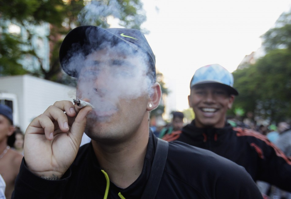 Uruguay becomes first country to legalise sales and consumption of marijuana
