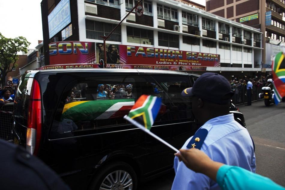 Mandela funeral South Africa