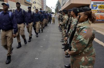 Military Mandela Funeral