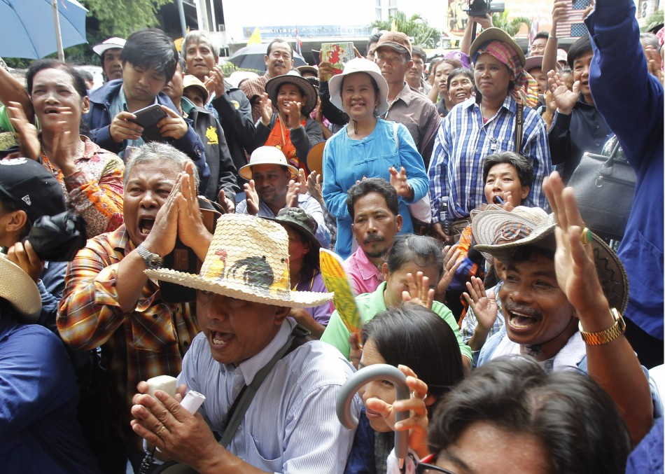 Thai Rice Farmer Protest
