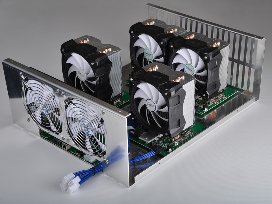 KnCMiner's Titan scrypt-mining rig to take on Alpha Technology's Viper