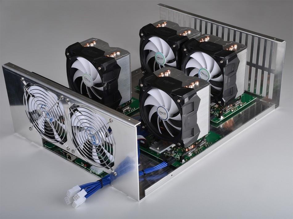 Neptune bitcoin mining rig