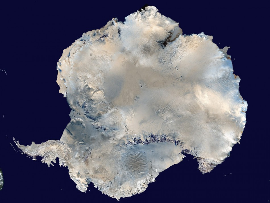 Antarctica is pictured in this undated image. (REUTERS/NASA/Handout)