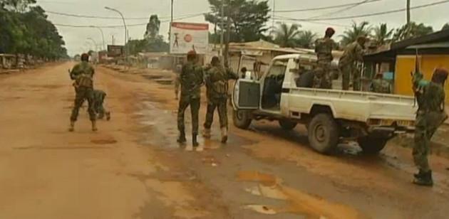 UN peacekeeper shot Bangui