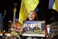 Women Protester in Ukraine