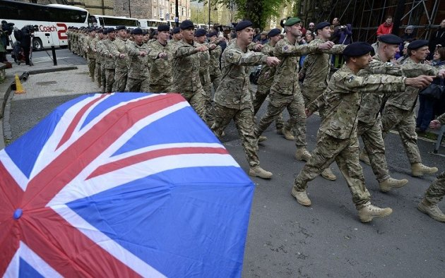 Financial Services Industry to Benefit from Ministry of Defence's 20,000 Jobs Cull (Photo: Reuters)