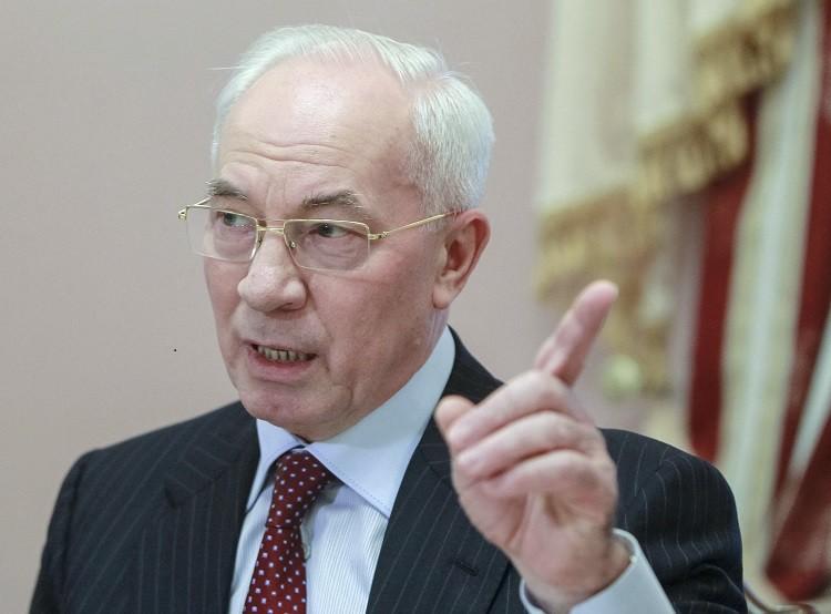 Prime Minister Mykola Azarov