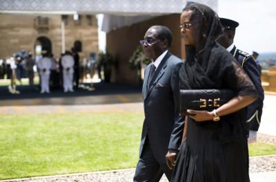 Mugabe Mandela Casket