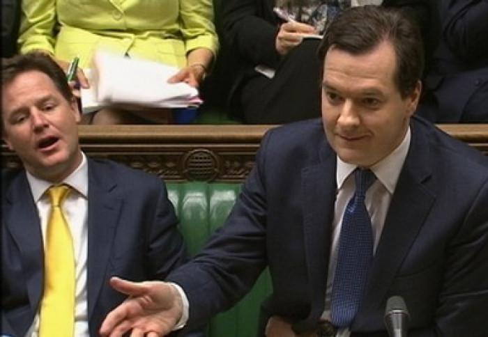 Nick Clegg supports George Osborne