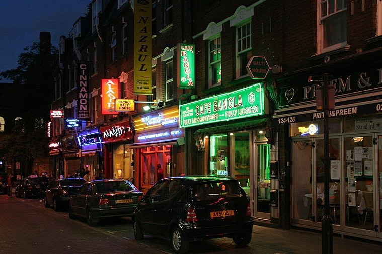 Brick Lane is popular with revellers for its bars and restaurants PIC: Wikicommons