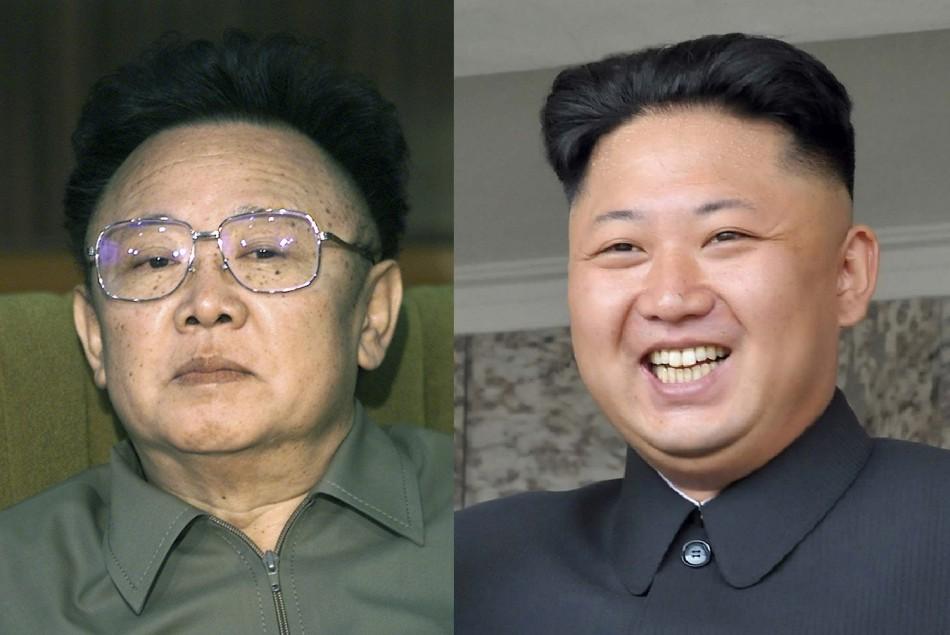 Kim Jong-un dear leader Kim Jong-i