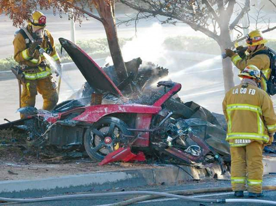 Paul Walker Car Crash Wreckage Thief Anthony Janow Surrendered in San Fernando Courthouse
