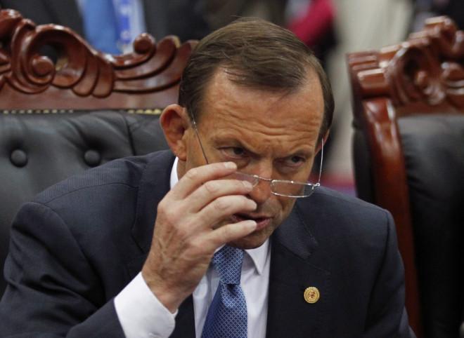 Australia's Prime Minister Tony Abbott