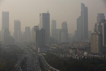 downtown Shanghai