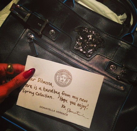 Rihanna bag
