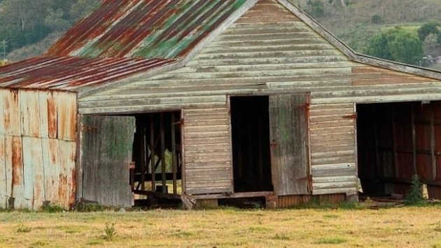 Australian Outback incest family shed