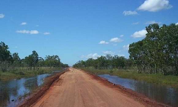 Australian Outback incest family road