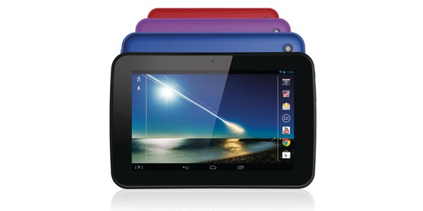 The Tesco Hudl is available in four colours.