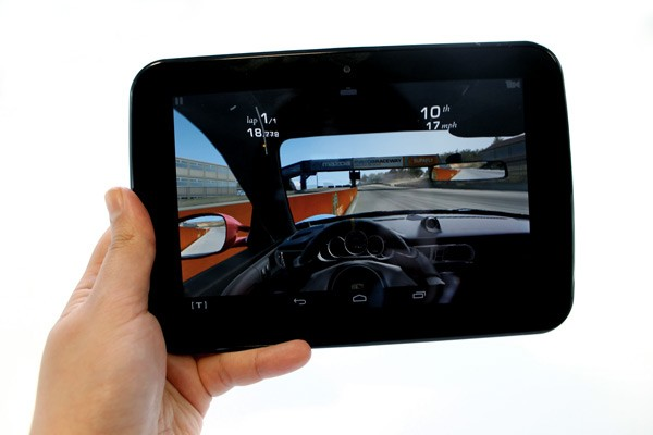 The Tesco Hudl can handle 3D games, offering a good performance.