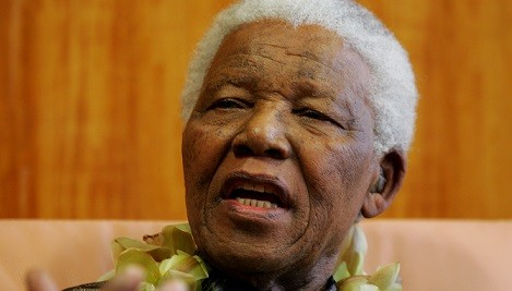 Nelson Mandela's body is currently lying in state Pretoria