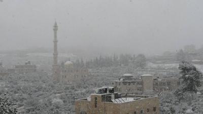 Jerusalem Snowfall 2