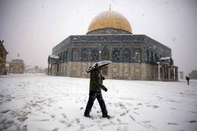Jerusalem Snowfall 3