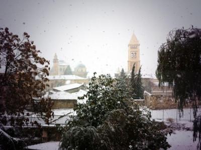 Jerusalem Snowfall 4