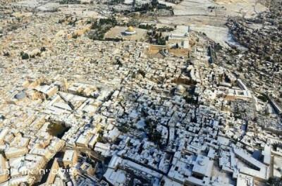 Jerusalem Snowfall 5