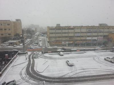 Jerusalem Snowfall 6