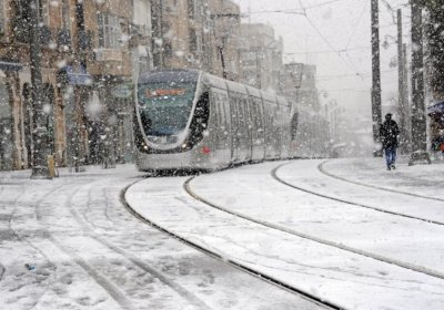 Jerusalem Snowfall 7