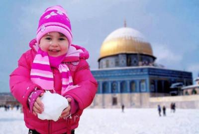 Jerusalem Snowfall 8