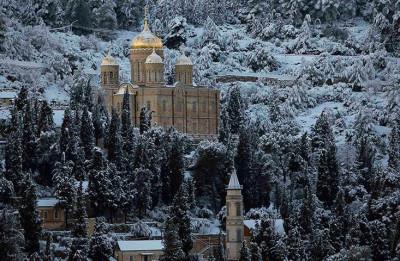 Jerusalem Snowfall 9