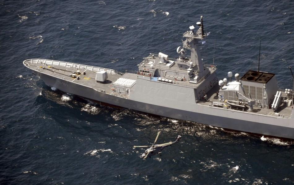 Japan China South Koera military drill