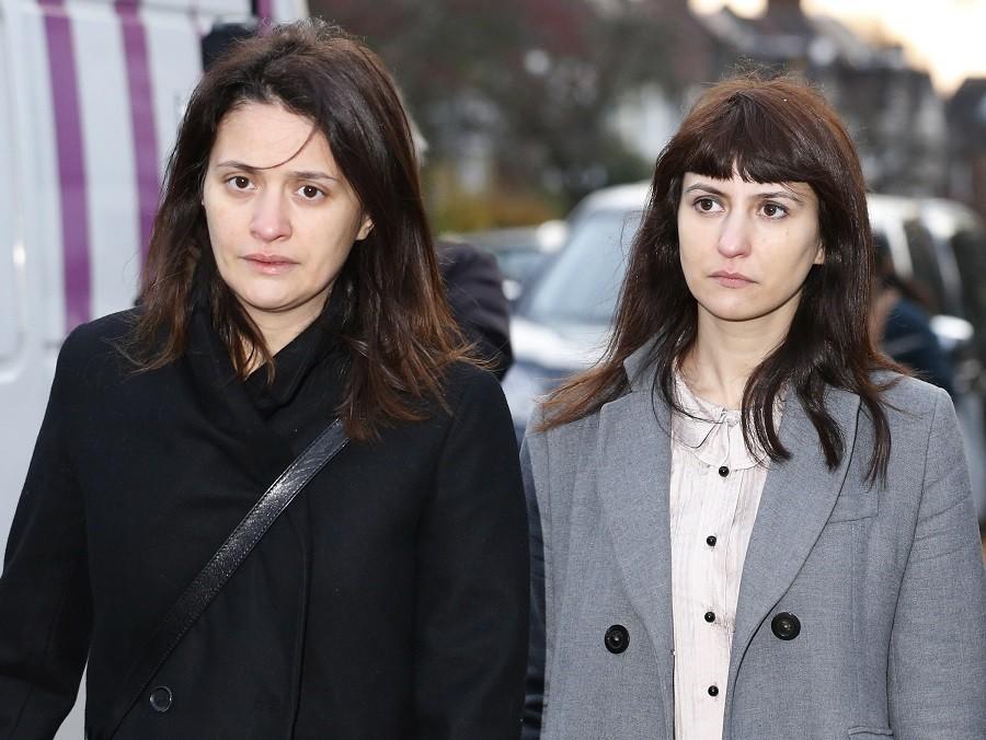 Francesca (R) and Elisabetta Grillo