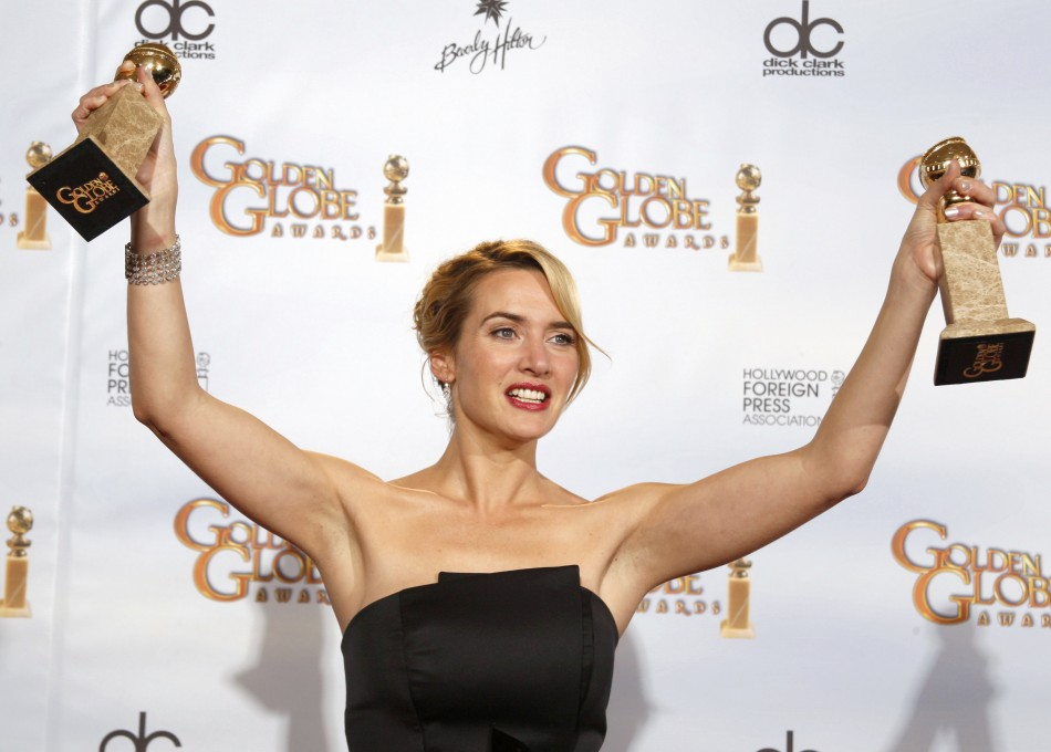 Golden Globe Nominee Kate Winslet