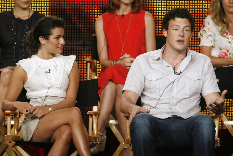 Lea Michelle and Cory Monteith