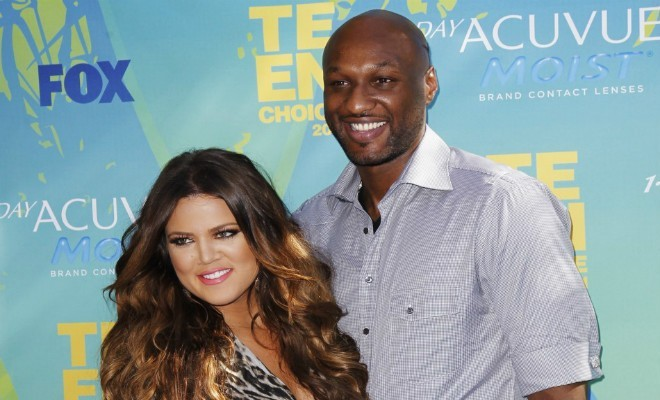 Lamar Odom says he's 'happy' for pregnant ex-wife Khloe Kardashian