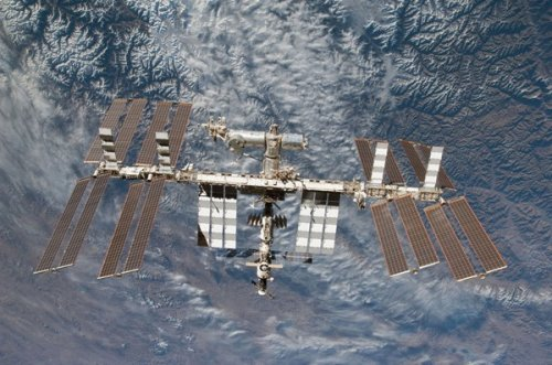 The International Space Station was infected by malware.