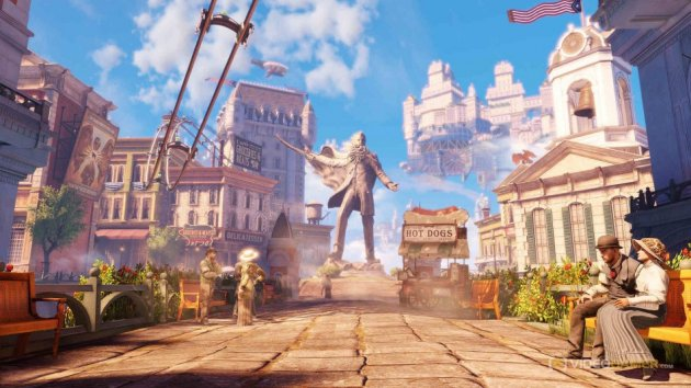 Best Games for Under £20 - BioShock Infinite