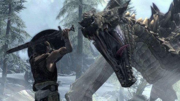 Best Games for Under £20 - Elder Scrolls V: Skyrim