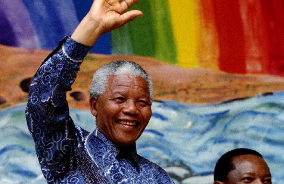 Nelson Mandela Gay LGBT